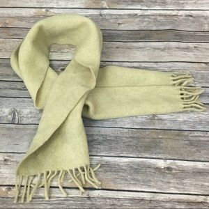 VTG Wool Scarf Made In Germany for R.H. Macy & Co
